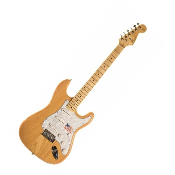 guitarra sx strato ash