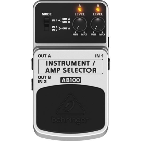 pedal amp selector