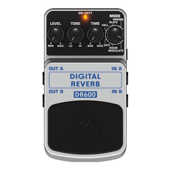 pedal behringer digital reverb