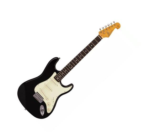 guitarra sx strato bk